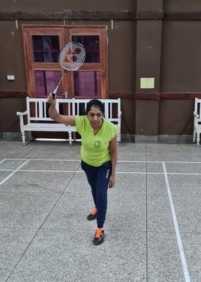 Pooja Badminton