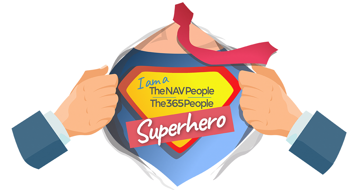 Featured image of superhero chest on 'Customer service heroes' article
