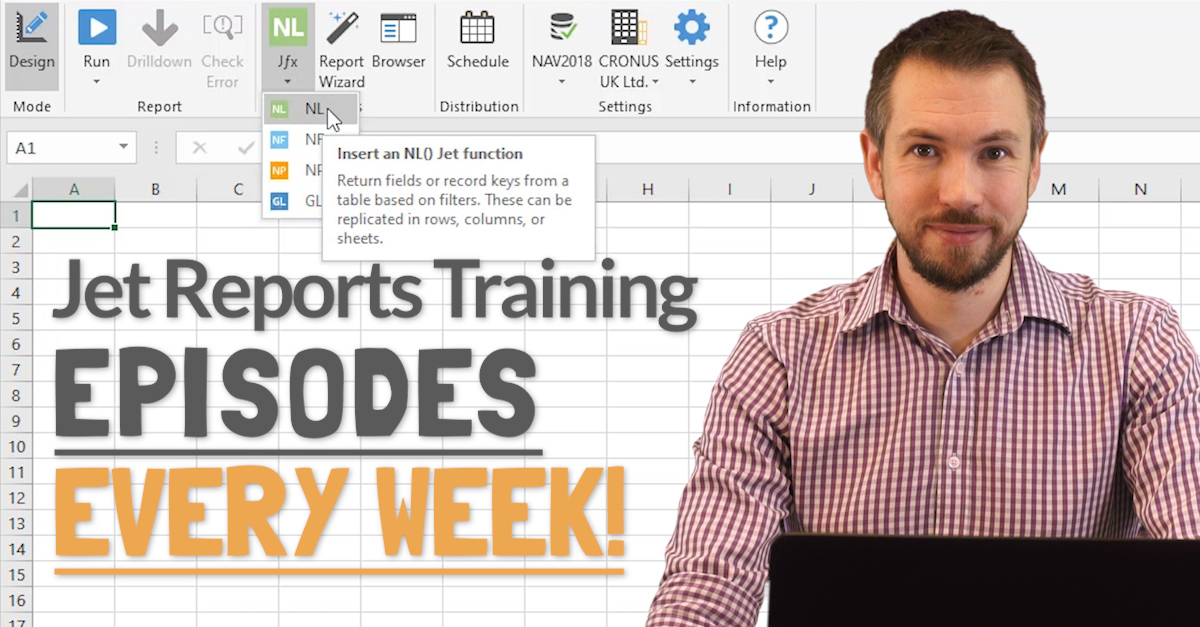 Jet Reports Training - New Episodes Every Week!