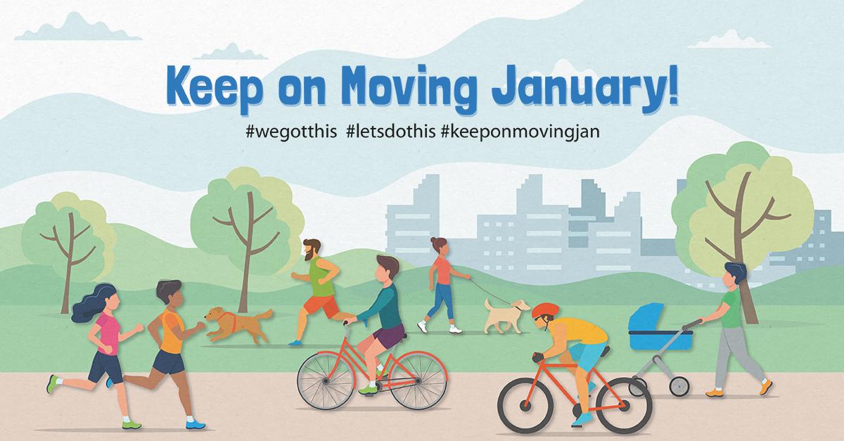 Keep on Moving January